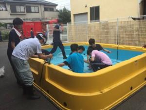 プール設置と救命救護研修_5459