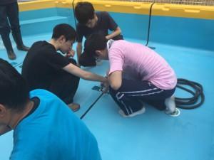 プール設置と救命救護研修_3561