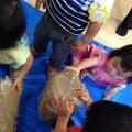 【黄色ちゅうりっぷ】土粘土で遊んだよ!
