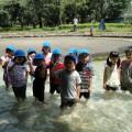 【ひまわり組】伊佐沼公園で水遊びしたよ!