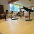 体操教室~平均台でバランス練習!~