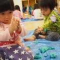 【乳児クラス】元気いっぱい室内遊び♪