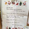 サンタさんからお手紙が届いたよ!