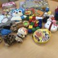 【寄付】沢山のおもちゃを頂きました♪