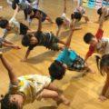 体操教室でいっぱい体を動かしました!