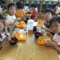 【食育】ひまわり組のお弁当の日♬