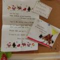 サンタさんから手紙が届いた!!